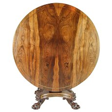 Regency goncalo alves and brass mounted Centre Table. Circa 1815