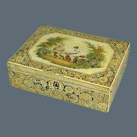 Regency Pen & Ink Work Box. Circa 1810. (c. 1810 England)
