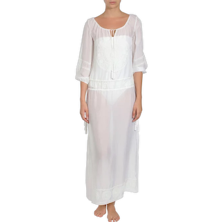Embroidered Long Boho Caftan