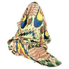 Vintage Ikat Textile