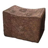 Ethnic Metal Studded Stool