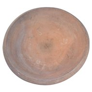 Grand Scale Terracotta Mold / Platter