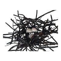 Artisan Steel Nest Sculpture