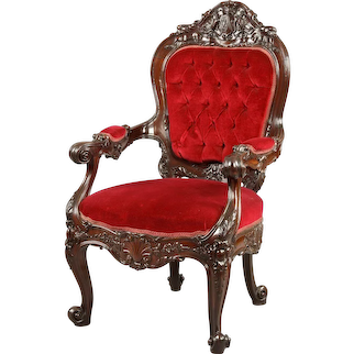 English William IV Period Armchair