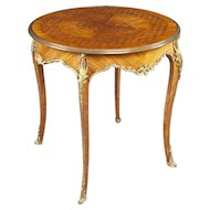 French 19th Century Occasional Table in the Louis XV Manner