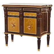English 19th Century Side Cabinet in the Louis XVI Manner