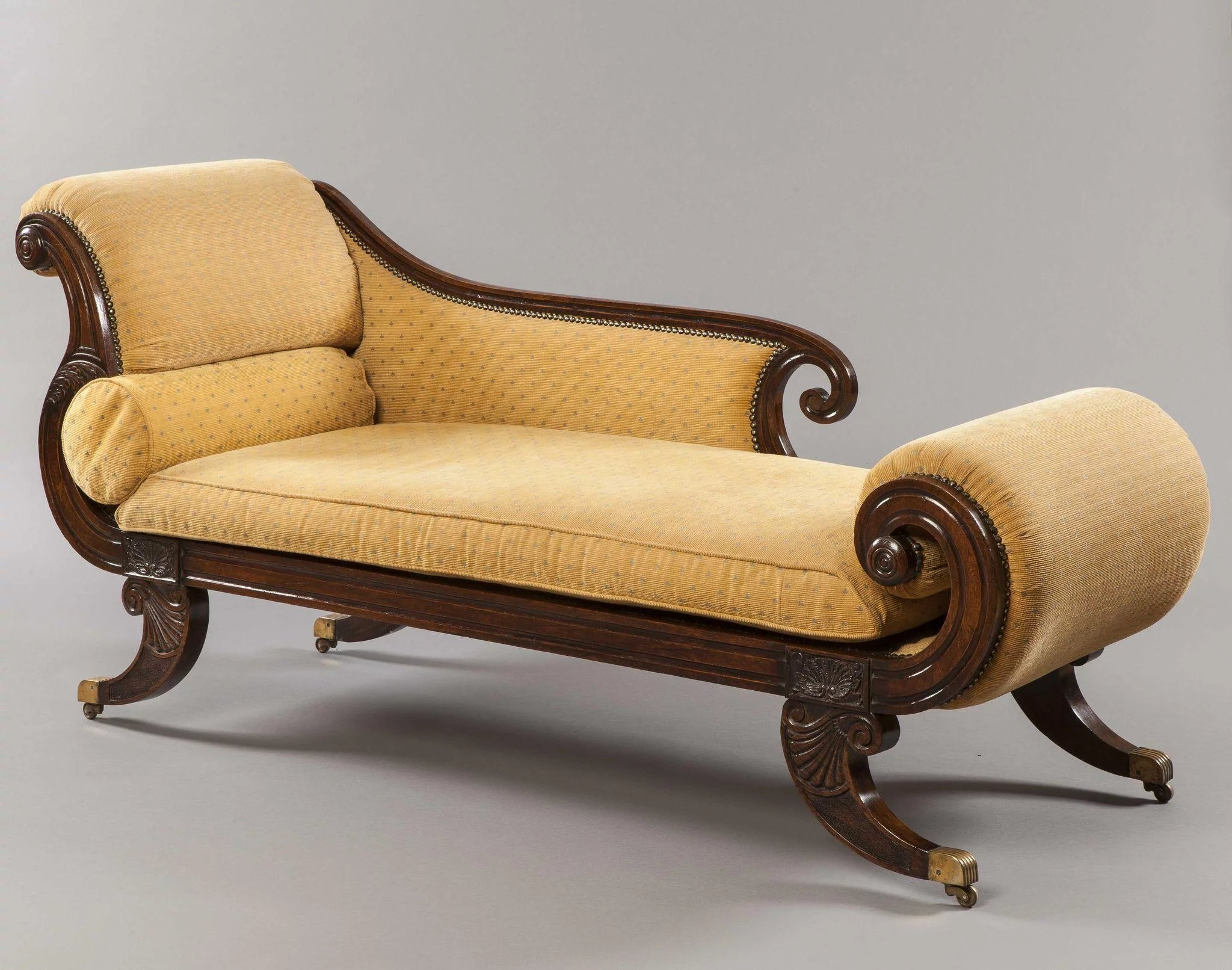 Regency Period Chaise Longue : Butchoff Antiques | RubyLUX on chaise recliner chair, chaise sofa sleeper, chaise furniture,
