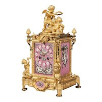 A Carriage Clock in the Louis XV Manner