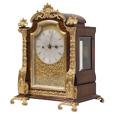 English 19th Century Ormolu ``````````````Table Clock