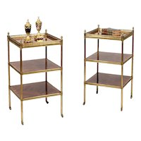 Pair of Modern Side Tables