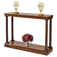 Late Georgian Mahogany Console Table