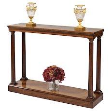 Late Georgian Mahogany Console Table