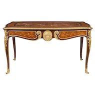 French Bureau Plat in the Louis XV Style