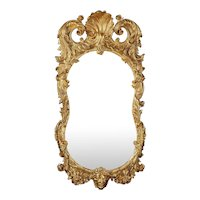 18th Century Irish Giltwood Mirror