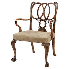 English Armchair in the Style of George II