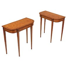 A Fine Pair of 18th Century Side Tables