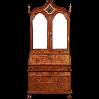 A Fine Early 18th Century Bureau Bookcase