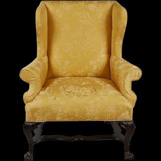 A Georgian Wingchair