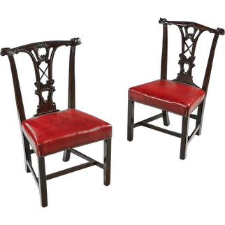 A Pair of 19th Century Irish Chairs