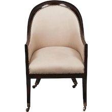 A Regency Tub Chair