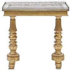 A Regency Specimen Table