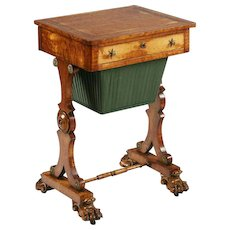 A Regency Sewing Box
