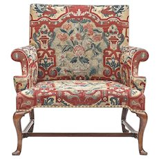 A Queen Anne Love Seat