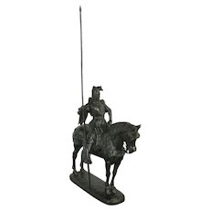 Duke of Orleans Equestrian Bronze