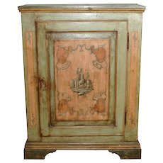 Continental Painted Commode