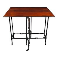 George III Mahogany Pad Foot Spider Leg Table (c. 1770 England)