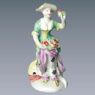18th Century Derby Figure of Summer. (c. 1765 England)