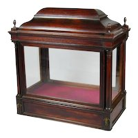 Georgian Glazed Mahogany Display Cabinet (c. 1760 England)