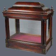 Georgian Glazed Mahogany Display Cabinet (c. 1760 England)
