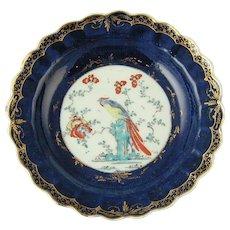 Worcester Joshua Reynolds Pattern Plate
