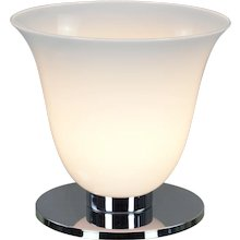 French Torchiere Table or Desk Lamp - MCM Style