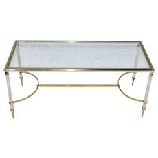 Vintage 1950s French Coffee Table Mid Century Modern