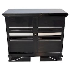 Art Deco Chrome Commode
