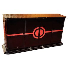 Art Deco Sideboard / NEW YORKER Chromliner