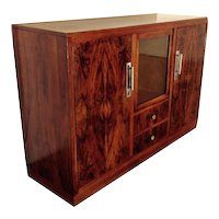 Art Deco Makassar Highboard