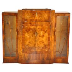 Art Deco Bar made of Walnut