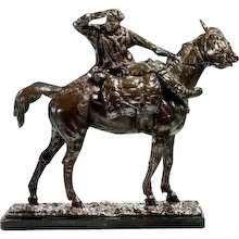 Bronze Sculpture of a Cossack