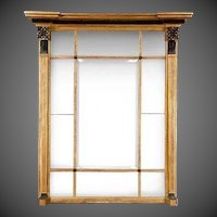 A Regency Giltwood Overmantle Mirror with Interesting Provenance