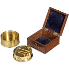 A rare pocket sextant by Brooks of Ludgate Street London