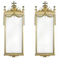 A pair of Majorcan Carlos IV mirrors