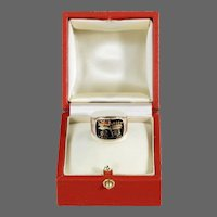 The Enamel & Gold Nelson Memorial Ring, Made For His Aunt, Mrs Thomasine Goulty (1733-1821)