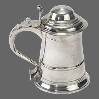 An Early George III Silver Tankard