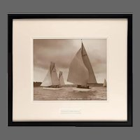 Original Beken photograph of the Gaff rigged Ketch sunshine Circa 1950