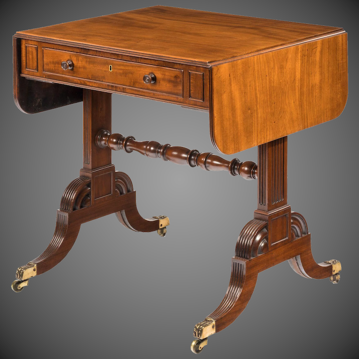 Pleasant A Late George Iii Mahogany Sofa Table Of Small Proportions Alphanode Cool Chair Designs And Ideas Alphanodeonline