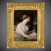 Portrait of Emma, Lady Hamilton as Ariadne, Richard Westall RA (1765–1836)
