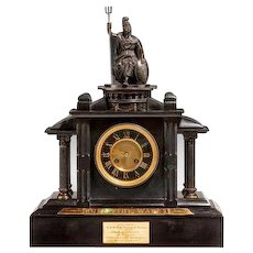 Historically important Royal Presentation clock (United Kingdom, 1894)